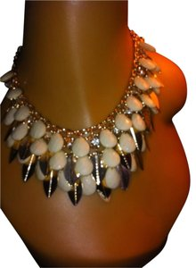 Other White Drop Beads Necklace 0095