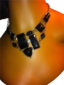 Other Black Rock Design Necklace 0018A