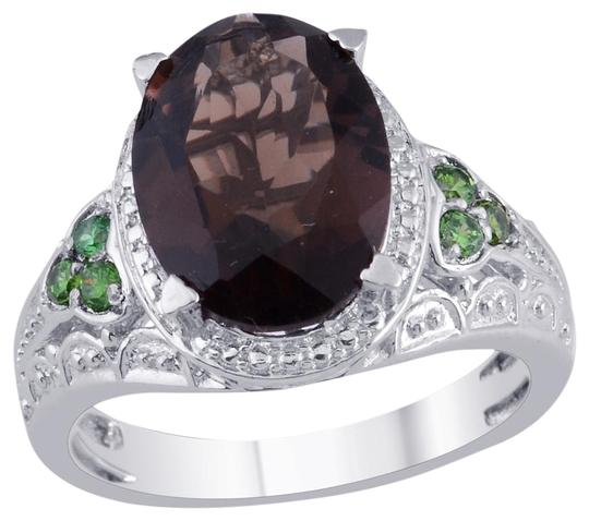 Preload https://item5.tradesy.com/images/brazilian-smoky-quartz-simulated-emerald-ring-730059-0-0.jpg?width=440&height=440