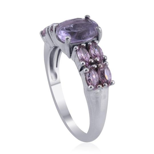 Unknown Amethyst, Simulated Pink Sapphire Ring