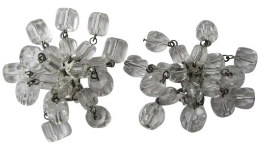 Preload https://item4.tradesy.com/images/clear-clip-glass-beads-earrings-730323-0-0.jpg?width=440&height=440