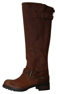 Steve Madden Light Brown Leather Boot Cognac Boots