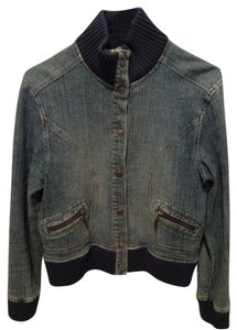 Kenzie Jeans Blue Denim Womens Jean Jacket