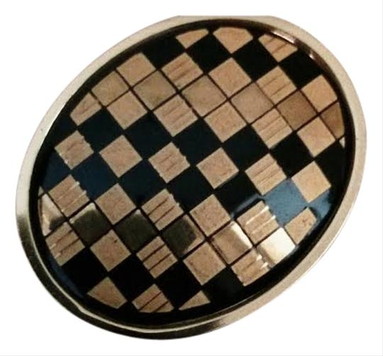 Preload https://item5.tradesy.com/images/gold-and-black-vintage-checkered-brooch-730884-0-0.jpg?width=440&height=440