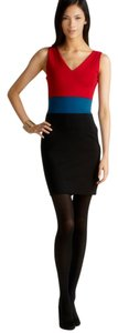 Romeo & Juliet Couture short dress Multicolor Colorblock Sleevless $140.00 on Tradesy