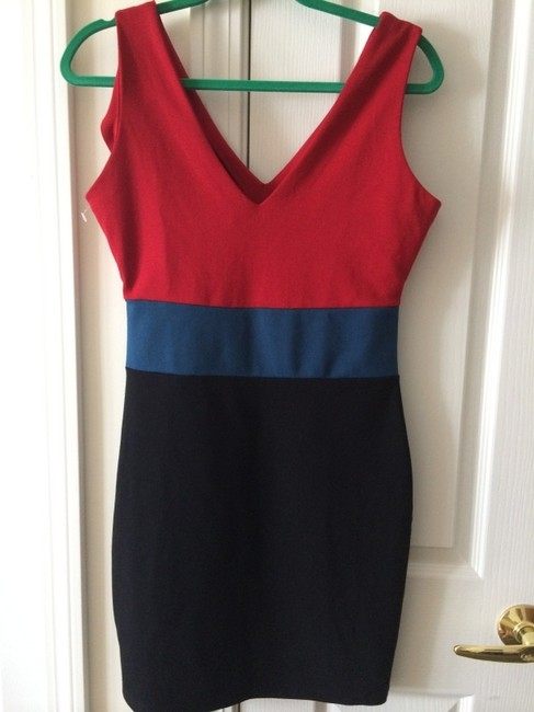 Romeo & Juliet Couture short dress Multicolor Colorblock Sleevless on Tradesy