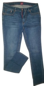 Dickies Tall Size (10/tl) Denim Boot Cut Jeans-Medium Wash