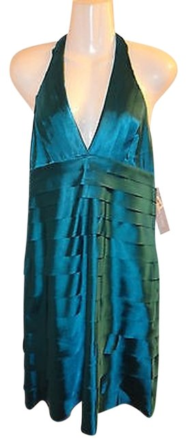 Preload https://item2.tradesy.com/images/london-times-teal-halter-bridesmaid-cocktail-above-knee-formal-dress-size-10-m-731086-0-0.jpg?width=400&height=650