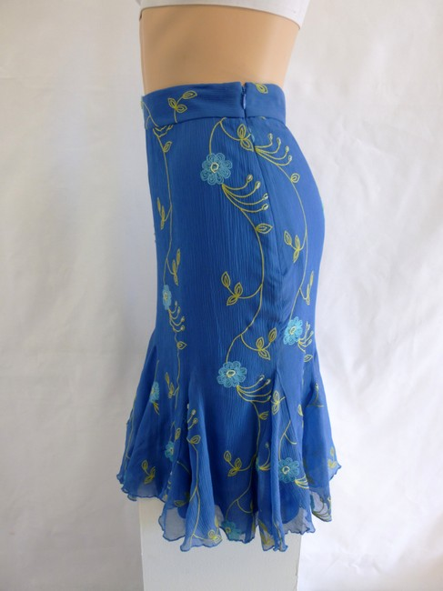 Anne Klein Dressed-up Classic Day Or Night Casual Designer Skirt blue
