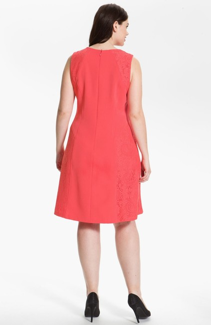 Adrianna Papell A Line Lace Dress