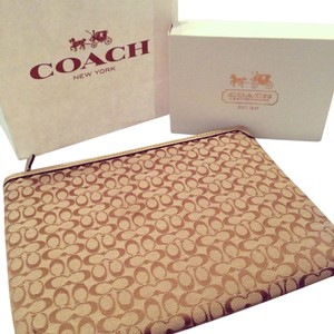 Coach COACH Signature Tablet iPad Case Sleeve Bag
