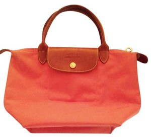 Longchamp Small Tote in pink