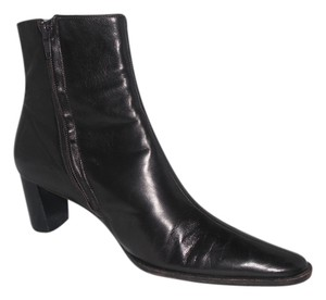 Robert Clergerie Leather Dark Brown Boots