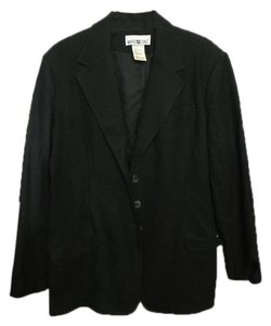 White Stag Black wool blazer