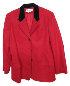 White Stag Red wool blazer