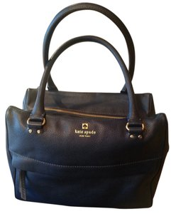 Kate Spade Blue Purple Satchel in dark lapis