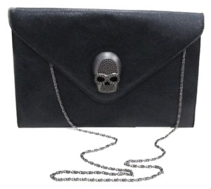 Reto Skull Clutch/ Cossbody Black Clutch