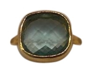 Gioielli by Nikki Baker Faceted Blue Stone Ring