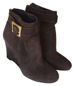 Tory Burch Brown /gold Boots