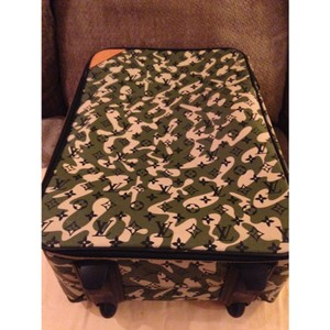 Louis Vuitton Louis Vuitton limited edition Camo luggage