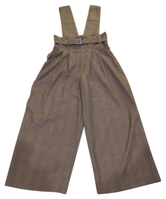 Preload https://img-static.tradesy.com/item/731611/brown-trousers-wdetachable-same-material-suspenders-baggy-pants-size-6-s-28-0-0-650-650.jpg