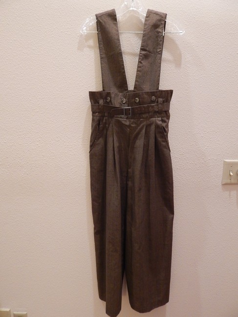 Other Size Can Be S - M Suspenders. Baggy Pants Brown