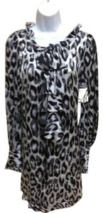 MILLY short dress Leopard print Silk New With Tags on Tradesy