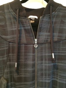 Oakley Fur-lined Grey and Black plaid Jacket