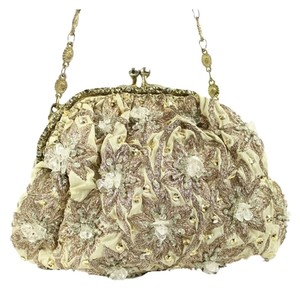 Christiana Beige Clutch
