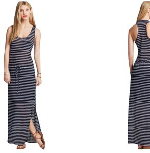 Navy blue and White Maxi Dress by C&C California