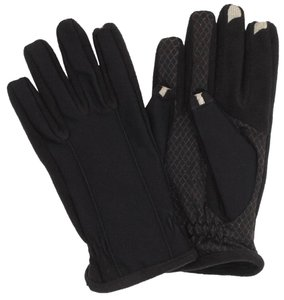 Isotoner Mens L SMARTouch 2.0 Touchscreen Tech Stretch Gloves ANDROID GPS ISOTONER