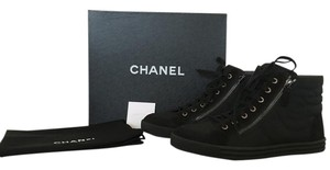 Chanel Sneakers Flats Black Athletic