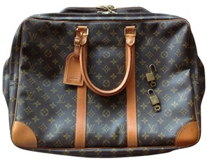 Louis Vuitton Tan/Brown Travel Bag