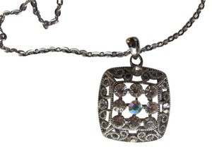 Other SQUARE PENDANT ON CHAIN