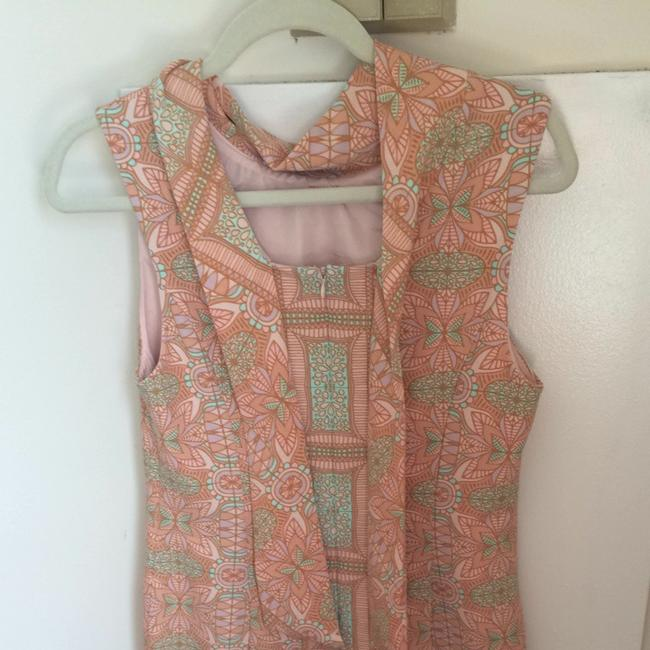 Forever 21 short dress Tan/Pink/Mint on Tradesy