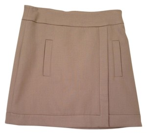 Zara Skirt Tan Nude
