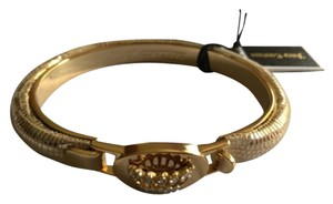 Juicy Couture Juicy Couture Gold Bangle with Crown Detail YJRU7225