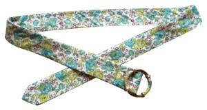 J.Crew Floral Cotton Belt