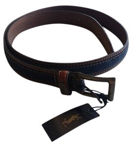Saint Laurent Yves Saint Laurent YSL Men's Belt