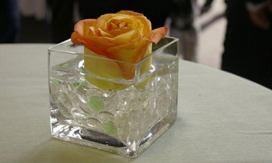 Clear - Water Pearl Centerpiece Fill Out Vase Filler