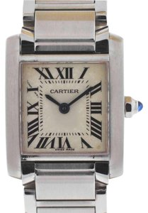 Cartier Cartier Tank Francaise Stainless Steel Ladies Watch 2384
