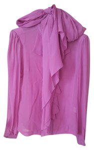 By Malene Birger Luxury Equipment Silk Top Rose