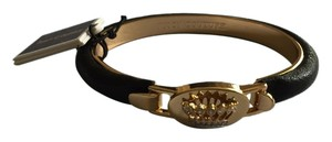 Juicy Couture Juicy Couture Black Bangle with Crown Detail YJRU7225