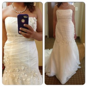Oleg Cassini Cwg377 Wedding Dress