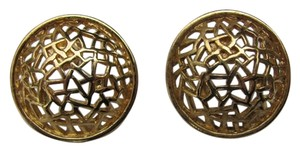 Other GOLD FILIGREE DESIGN ROUND EARRINGS