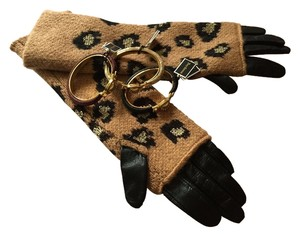 Juicy Couture Juicy Couture Leopard Mitt Glove S Small YTRUC483