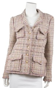 Chanel Tweed Pink Blazer