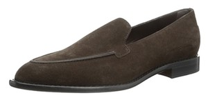 Tod's Warm Suede Chocolate Brown Flats