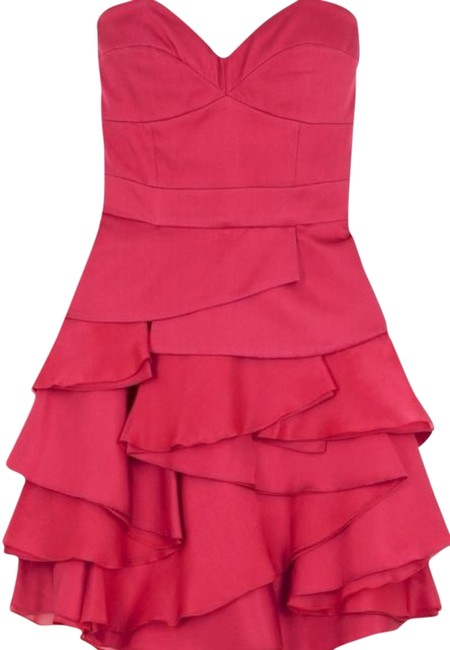 Temperley London Ruffle Peplum Runway Couture Silk Dress