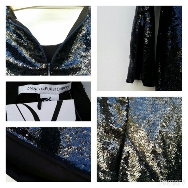Diane von Furstenberg Sequin Longsleeve Dress